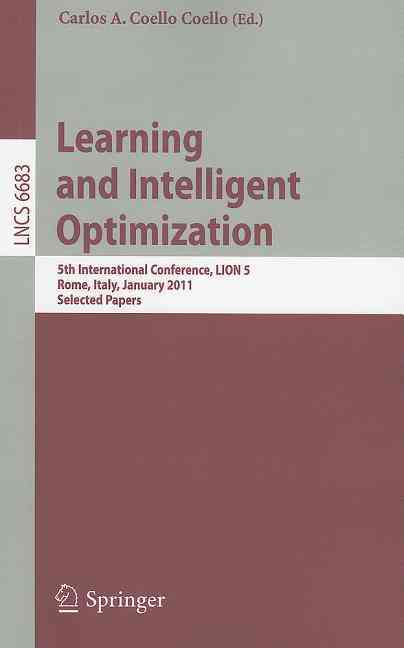 Learning and Intelligent Optimization By Coello, Carlos A. Coello (EDT)